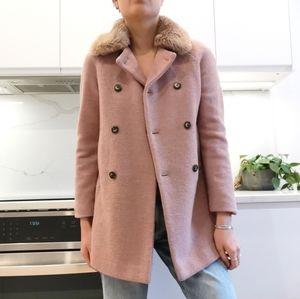 Zara double breasted coat
